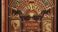 Jules Vernes - Couverture de Voyages Extraordinaires