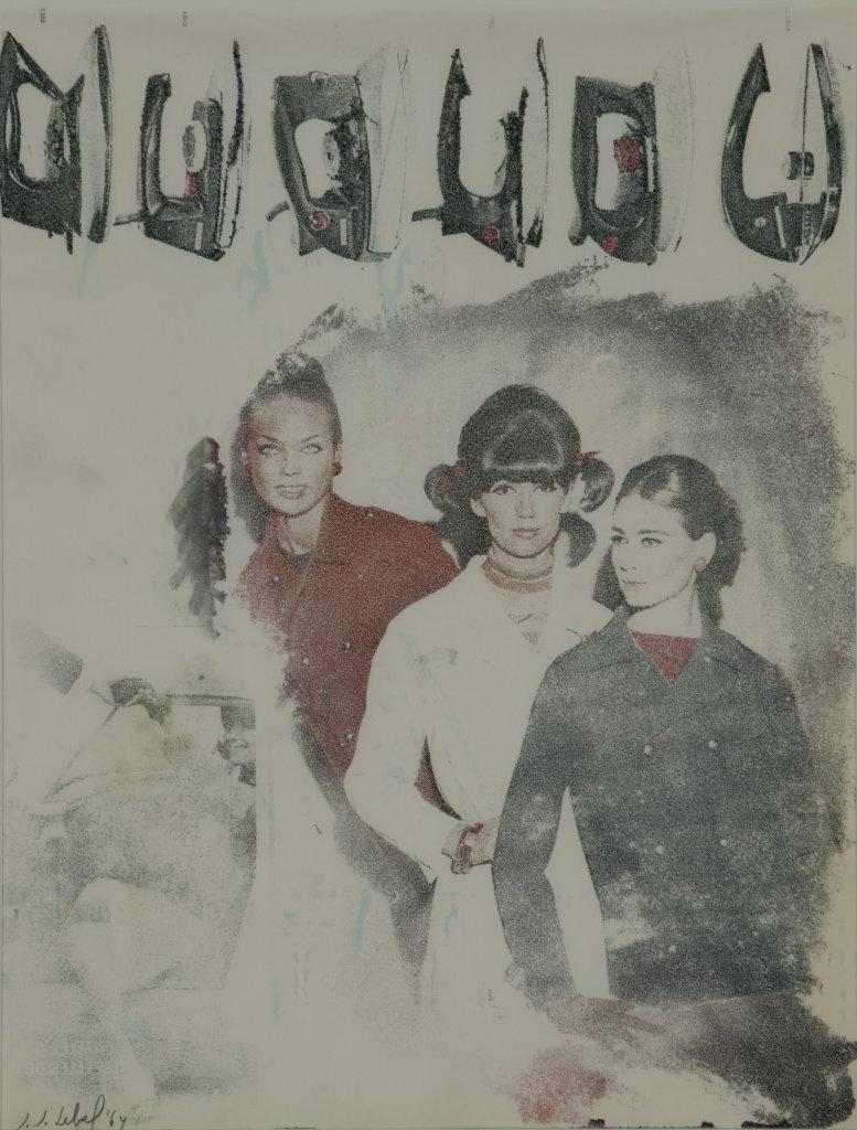 Jean-Jacques Lebel, Repassées, 1964. - Vingt-quatre heures de la vie d'une femme au MAMC Saint-Etienne
