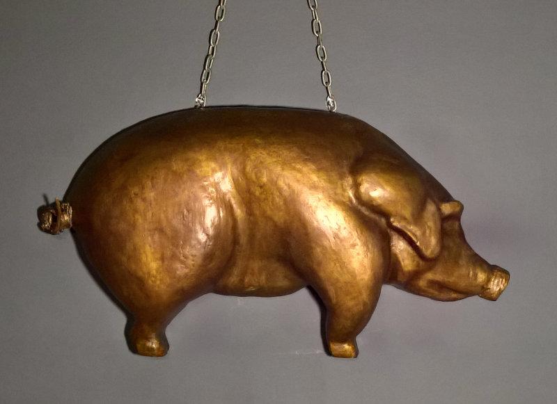 L'enseigne cochon de Delicatessen
