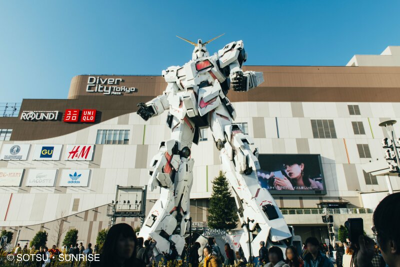 Tokyo - Manga, Gundam