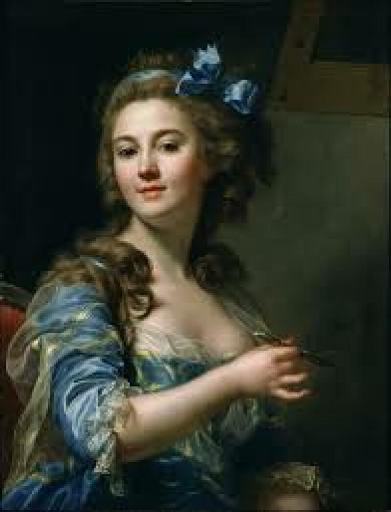 Marie-Gabrielle Capet - Self-Portrait