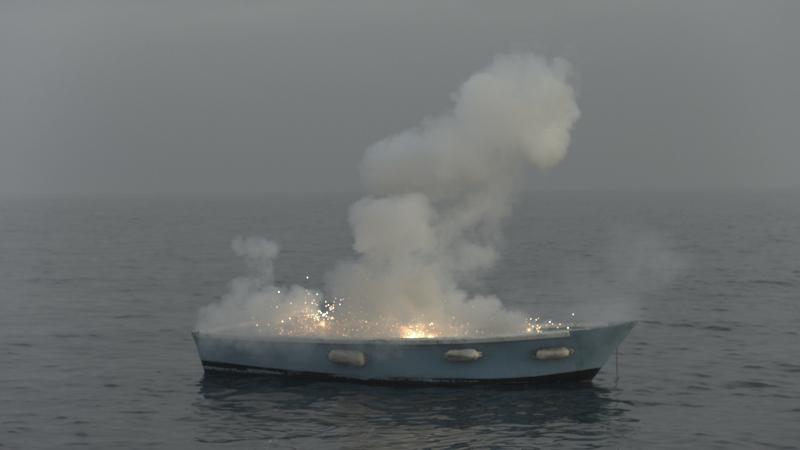 Medhi Meddaci, La barque, 2013