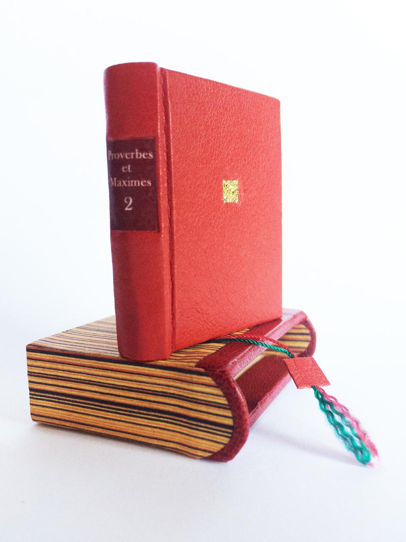 Proverbes et maximes sur l'Amour tome 2 (c) Mini Ma 4,5 x 4 cm