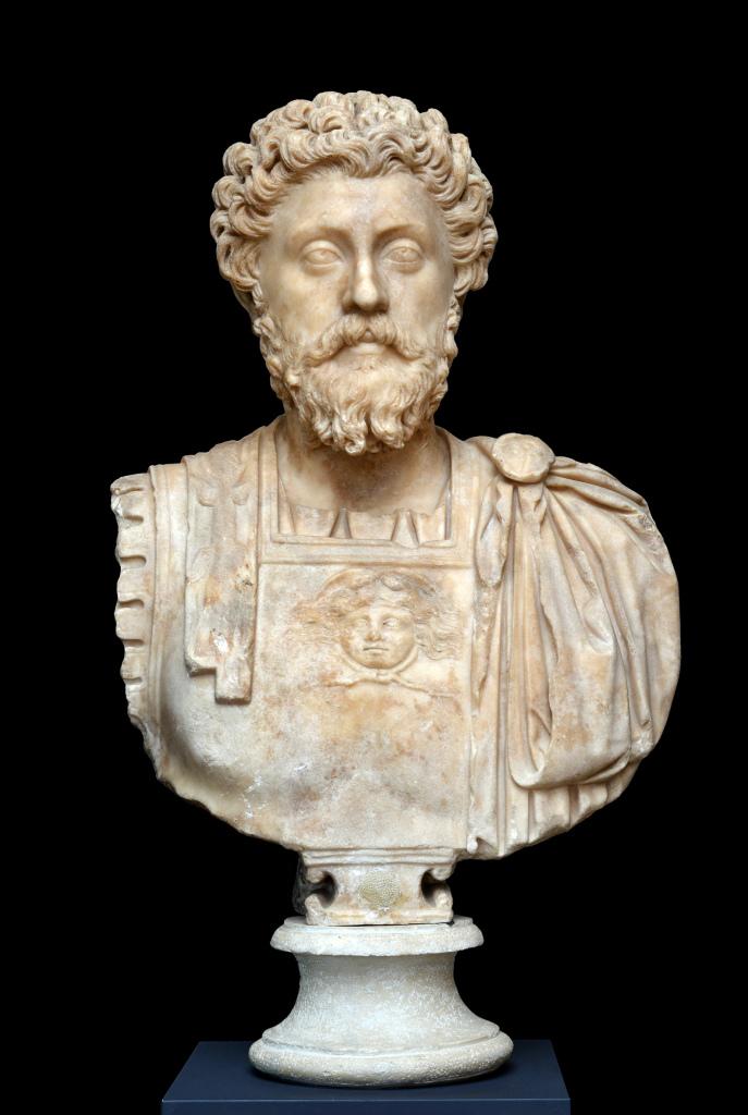 Portrait en marbre de Marc Aurèle