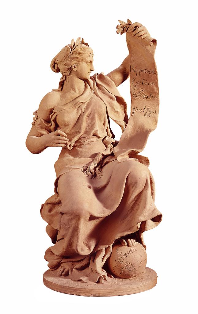 Allégorie de la Médecine, Coll. Charles Van Herck, Fondation Roi Baudouin, en dépôt au Musée Royal des Beaux-Arts, Anvers