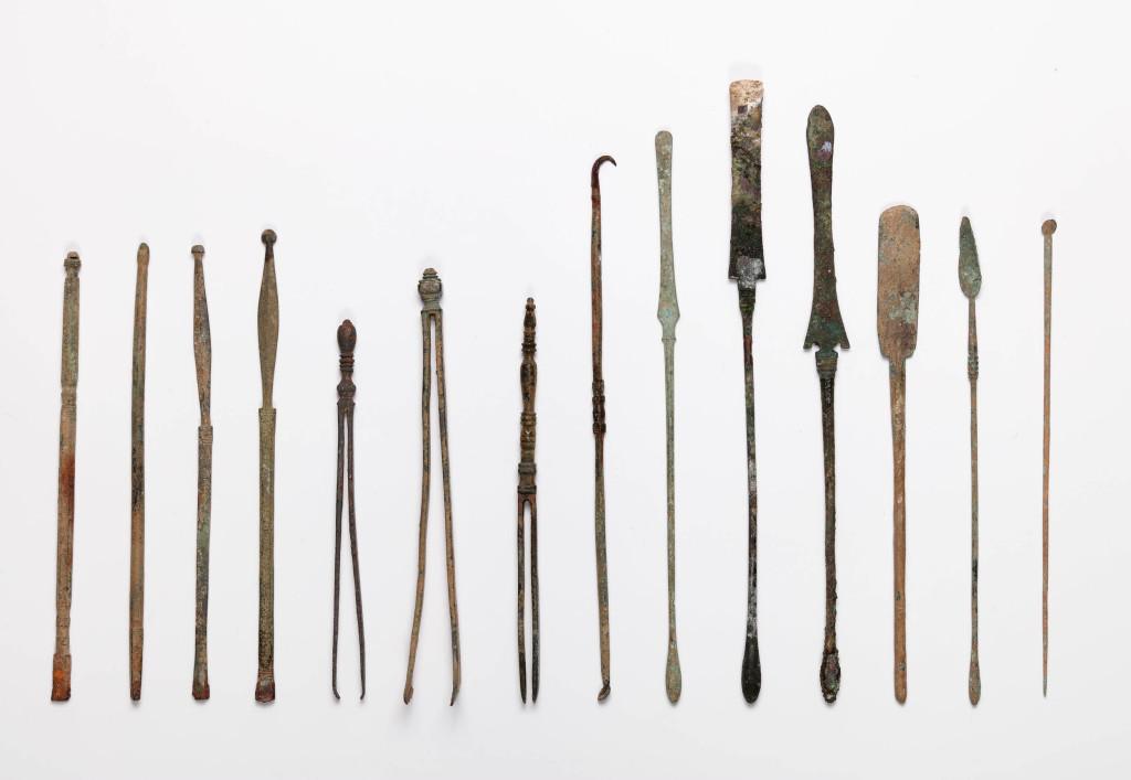 Ensemble d'instruments médicaux