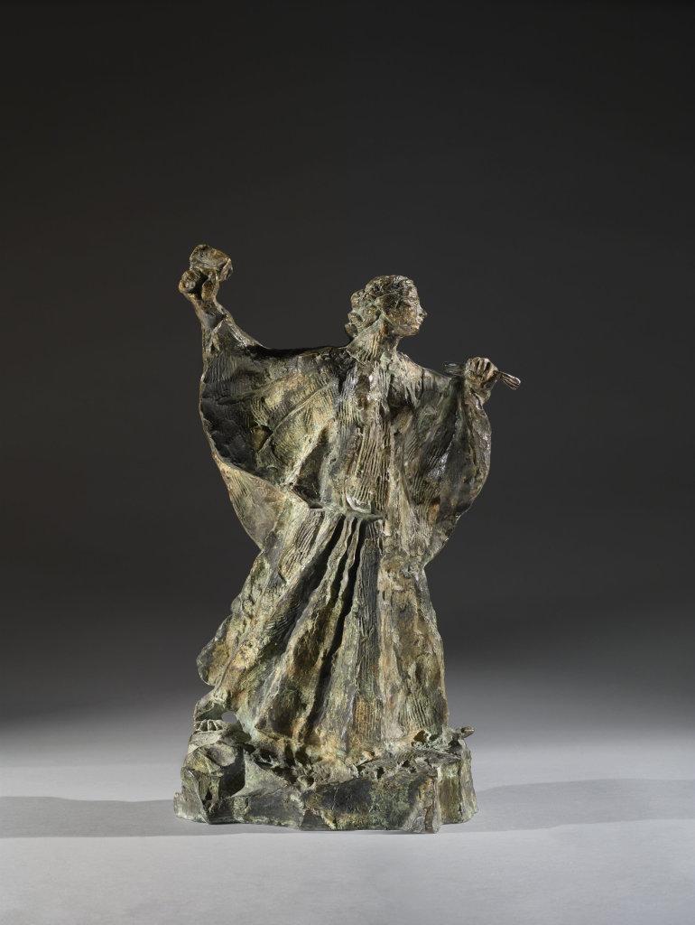 Antoine Bourdelle, Femme sculpteur au travail, 1906