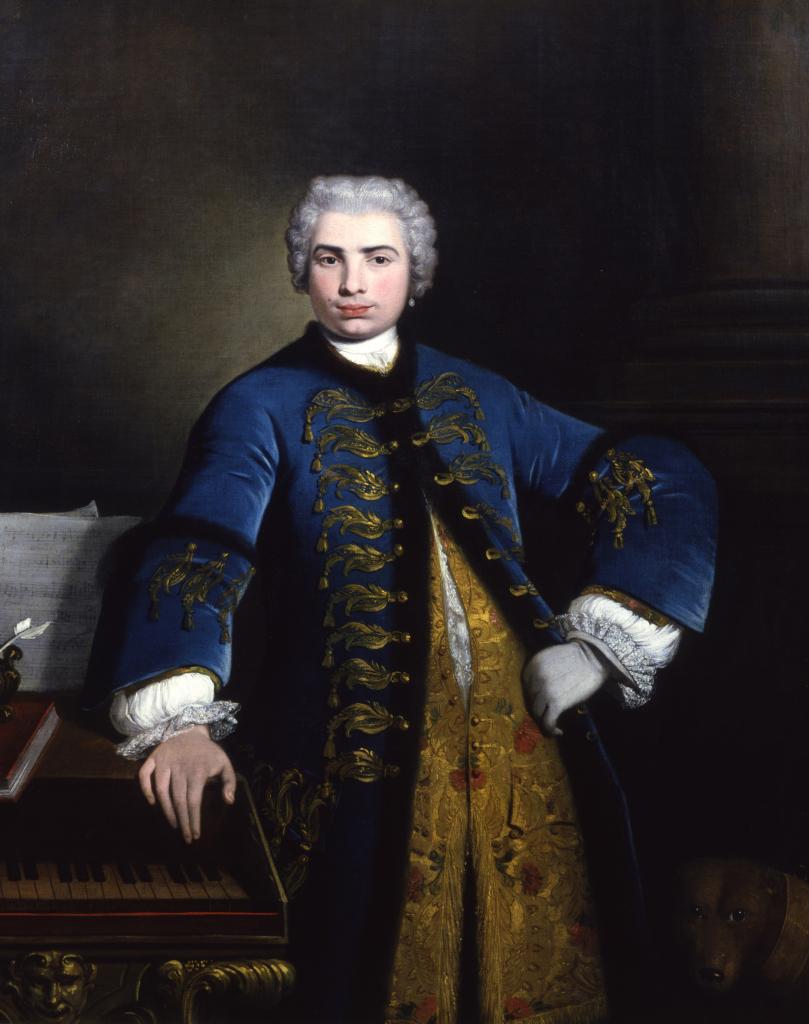 NAZARI portrait de Farinelli