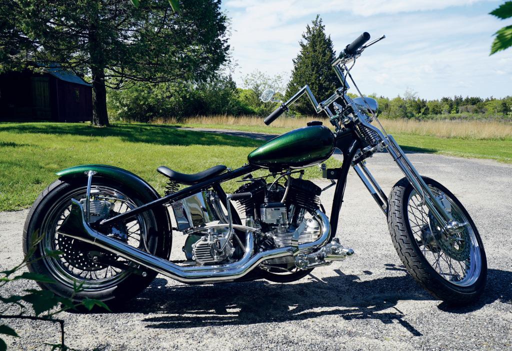 Olivier Mosset, Harley Davidson 45' Flathead (1954) - 2016