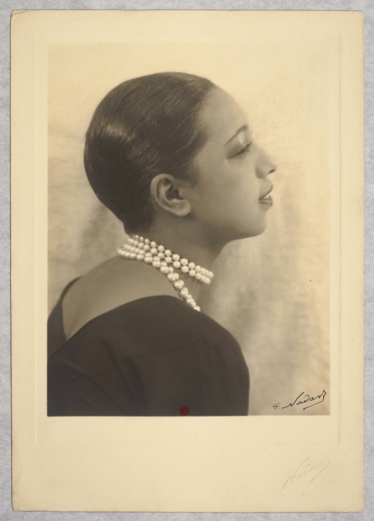 Paul Nadar, Joséphine Baker, vers 1930