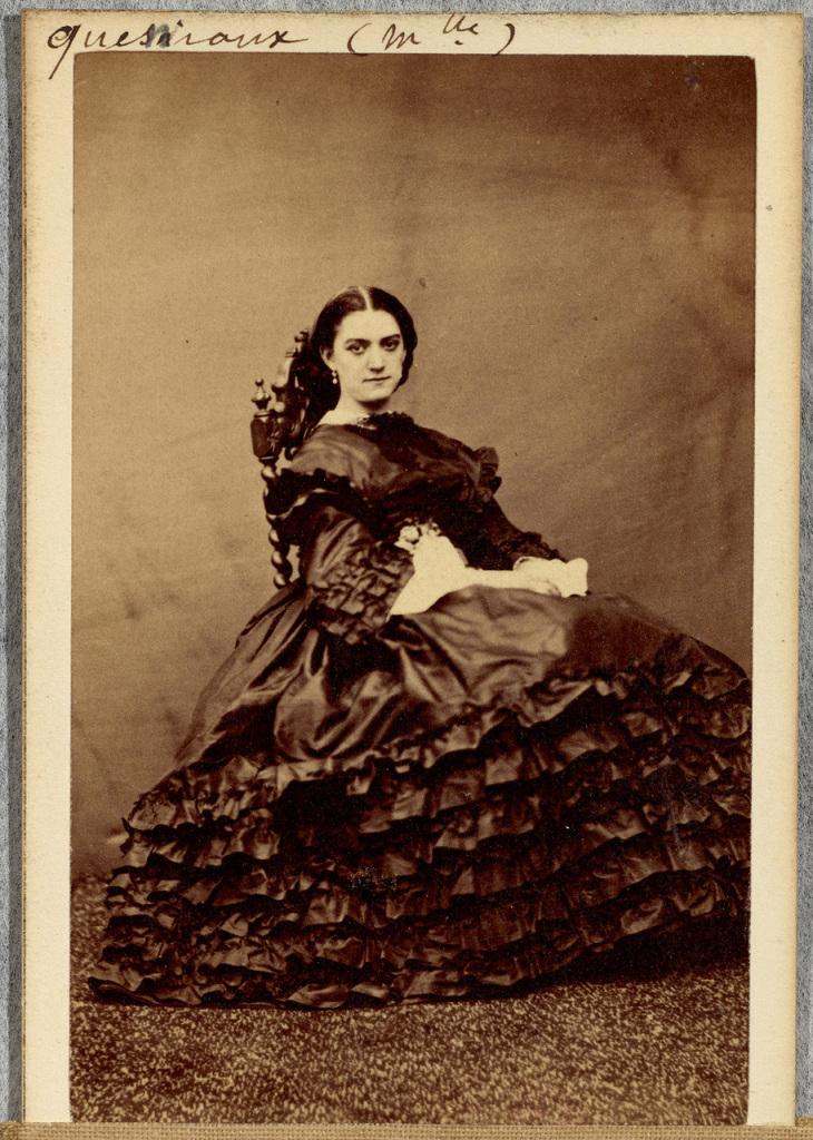 Pesme, Constance Quéniaux, 1861 © Bnf