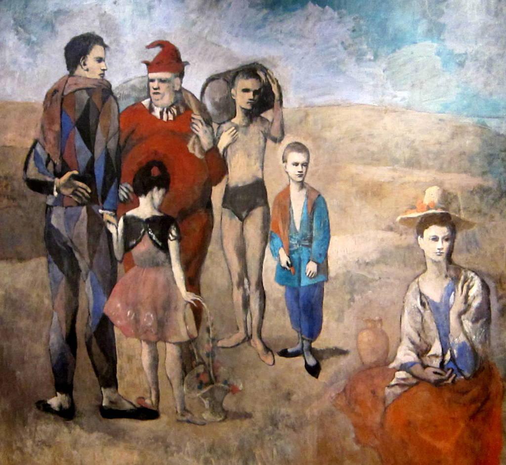 Pablo Picasso, Les saltimbanques