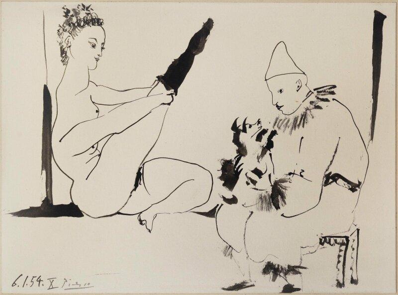 Pablo Picasso, Famille de cirque