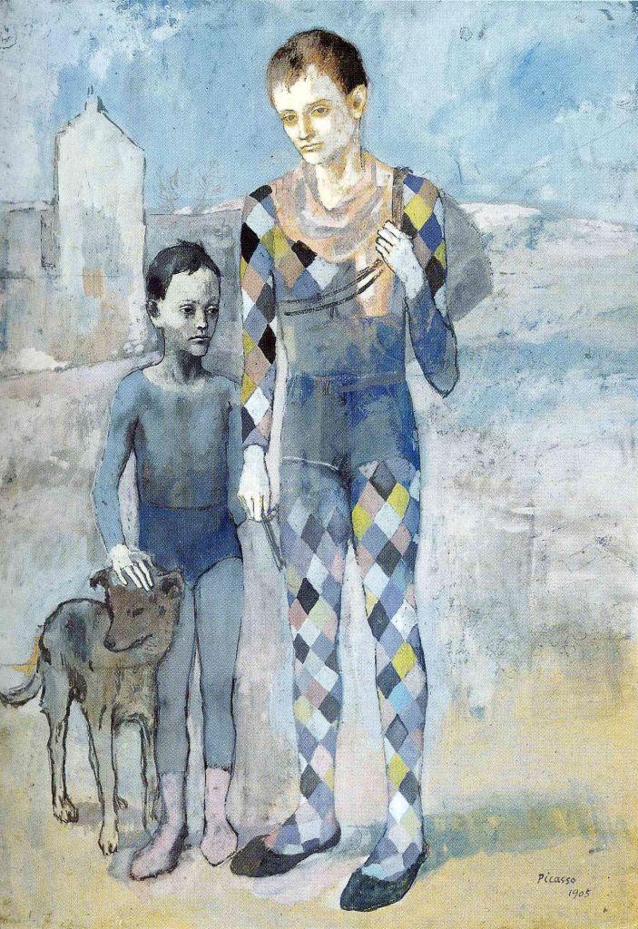 Pablo Picasso, Arlequin