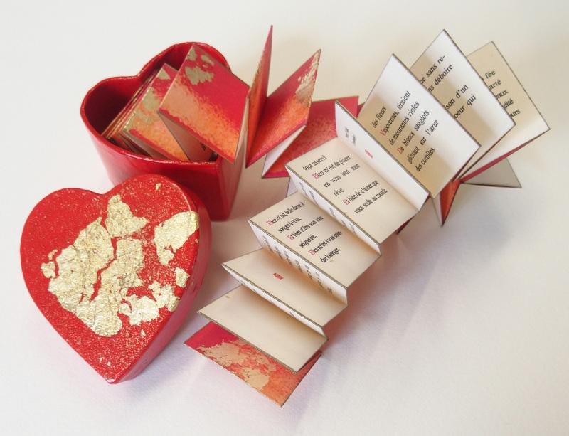 Poèmes d'amour  (c) Mini Ma circa 4 x 4 cm