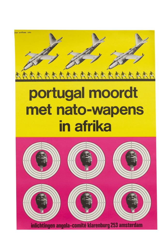 Portugal moordt met nato wapens in afrika