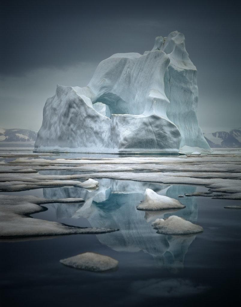Près de Qaanaaq, Groenland du nord