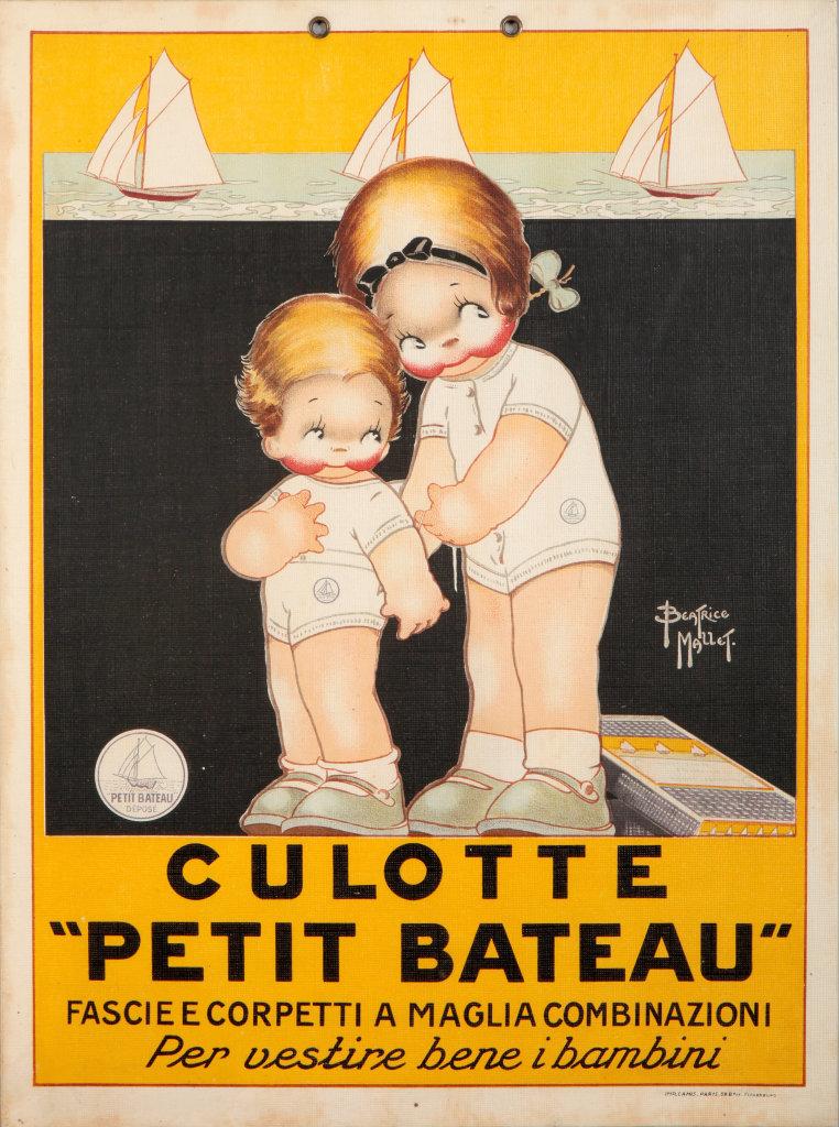 Affiche Petit Bateau au Musée Vauluisant