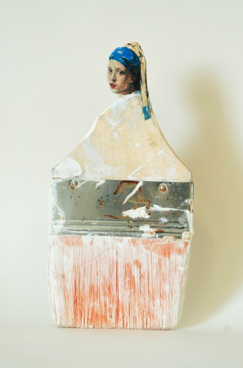 Rebecca Szeto, Jeune fille à la perle, 2016