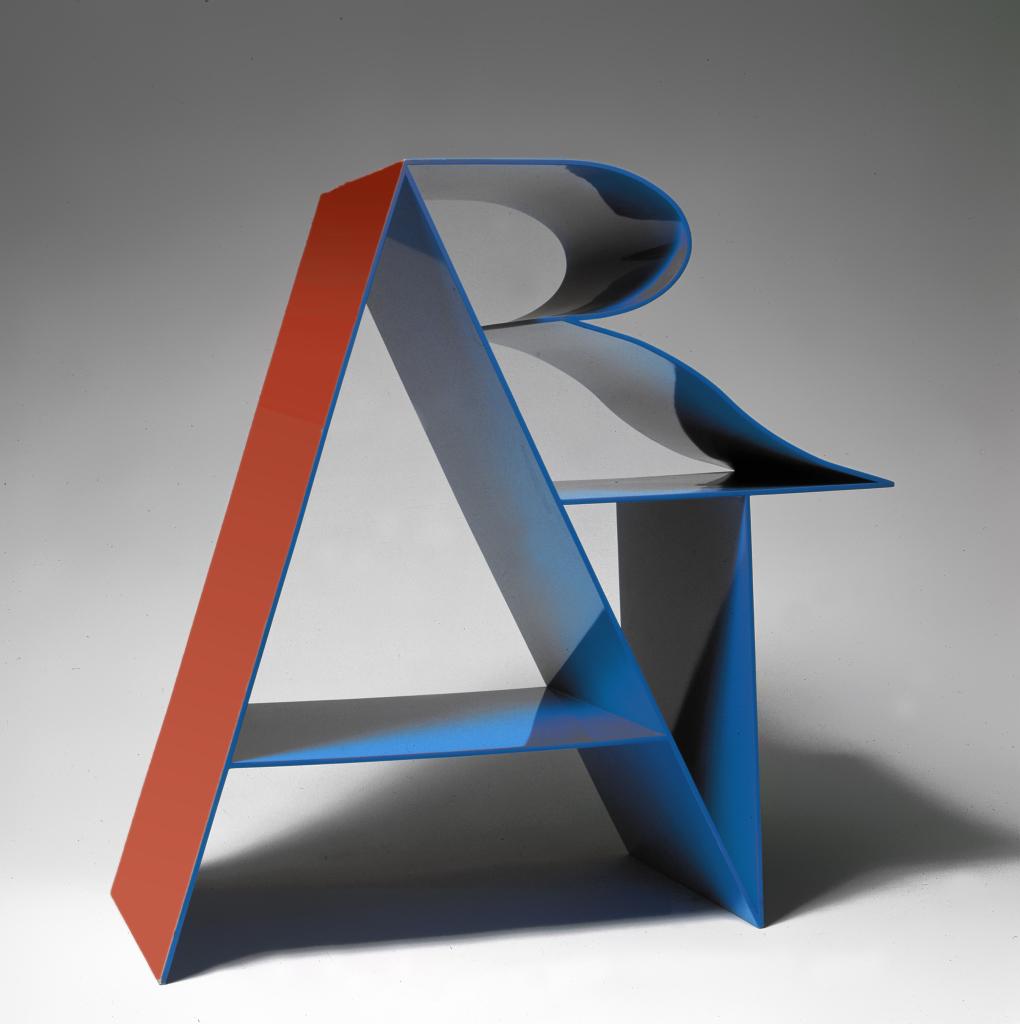Robert Indiana, Art (Blue, Red), 1972-2001 - 1972