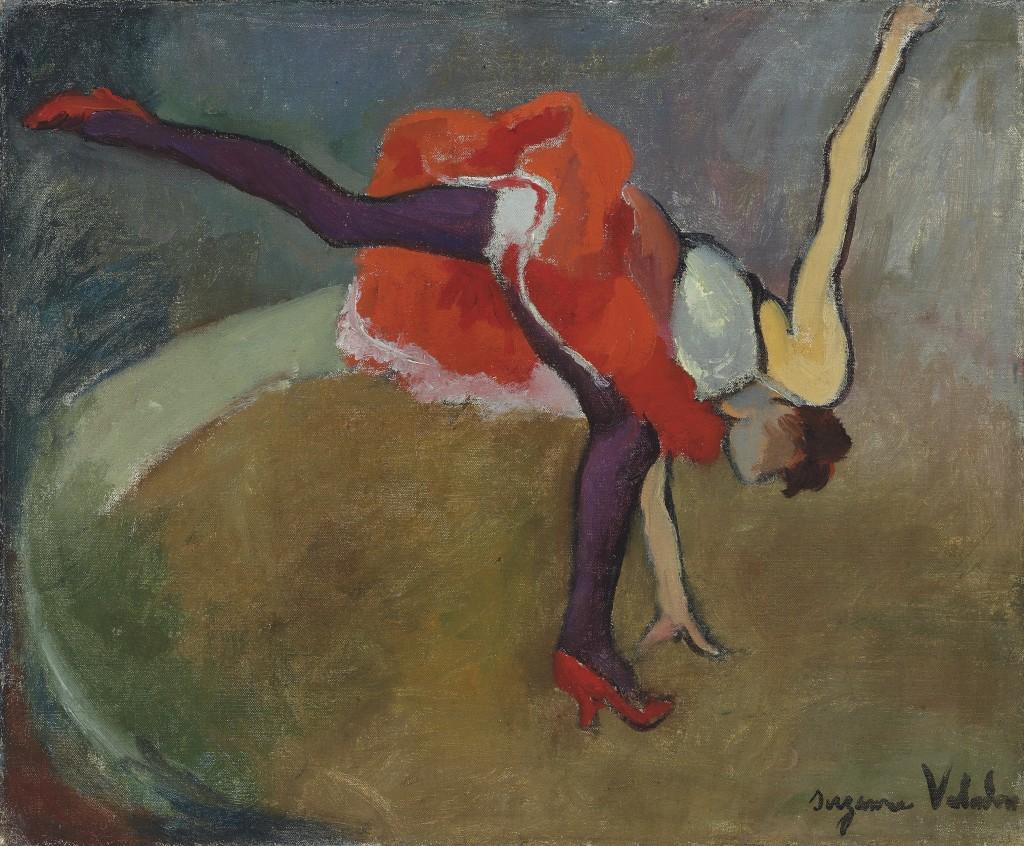 Suzanne Valadon, La Roue