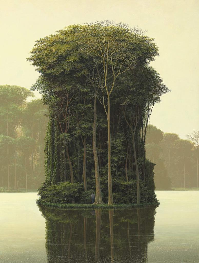 Tomas Sanchez, El árbol