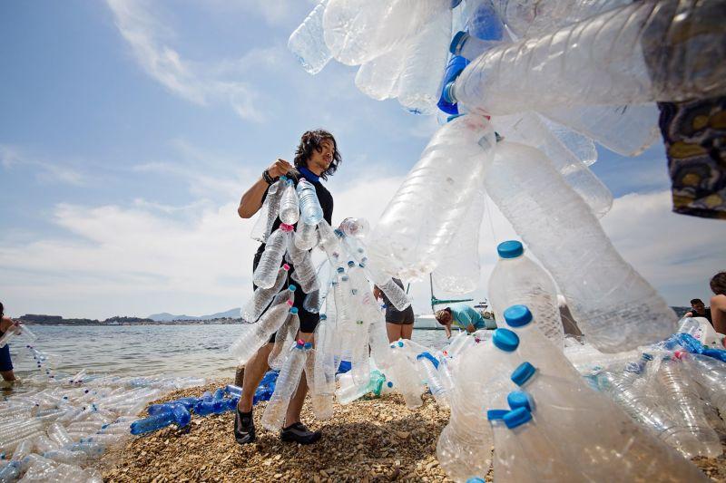 Truckload Of Plastics