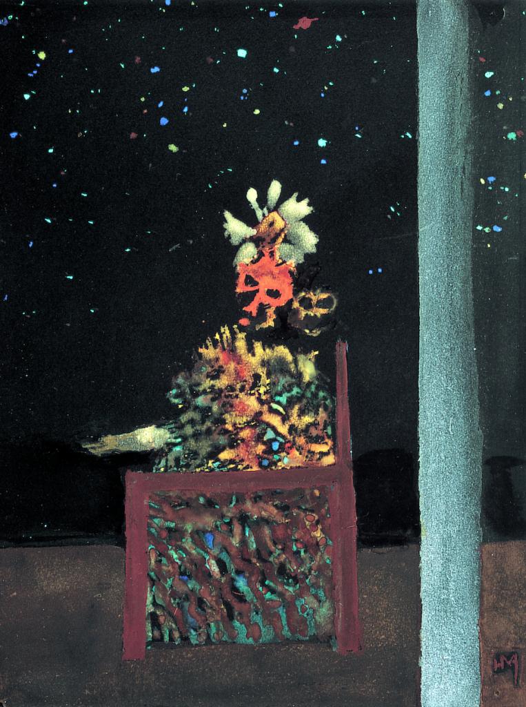 Henri Michaux, Le Prince de la nuit, 1937