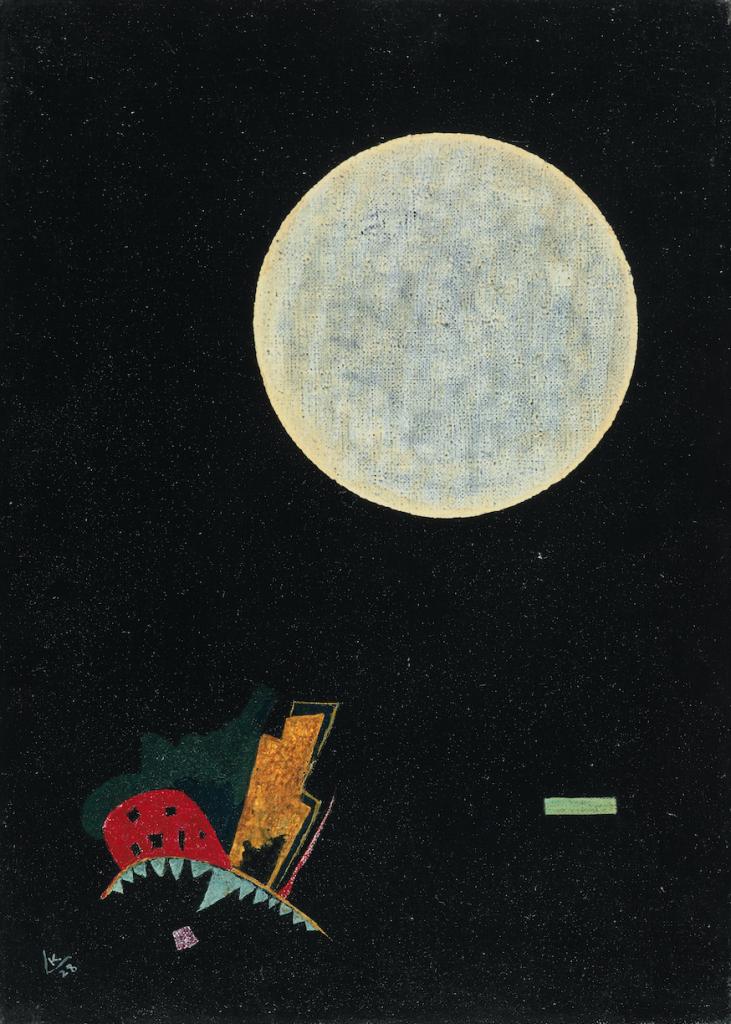 Vassily Kandinsky, Un Cercle, 1928