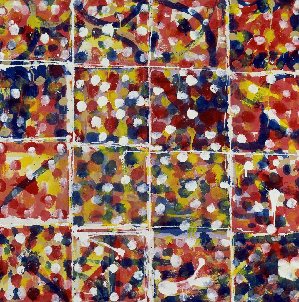 André Valensi, 16 carrés couleur, 1980. - Vingt-quatre heures de la vie d'une femme au MAMC Saint-Etienne