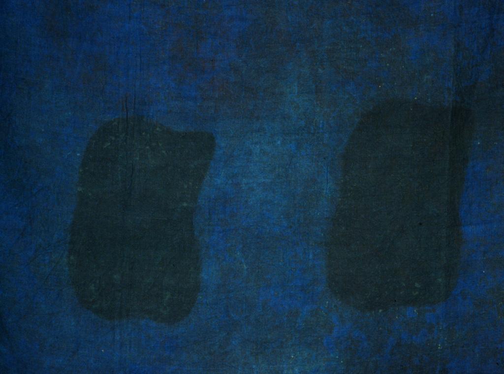 Claude Viallat, Peinture, vers 1972. - Vingt-quatre heures de la vie d'une femme au MAMC Saint-Etienne