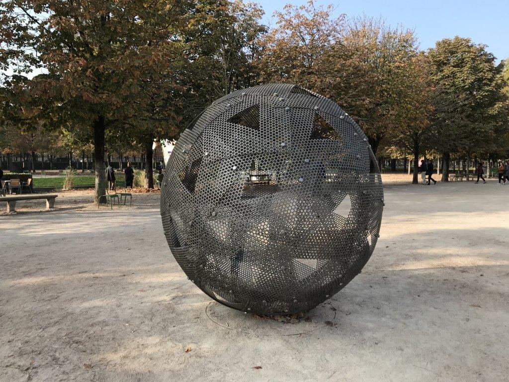 Vue de la FIAC Hors les Murs, Jardin des Tuileries (5)