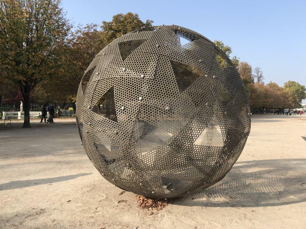 Vue de la FIAC Hors les Murs, Jardin des Tuileries (6)