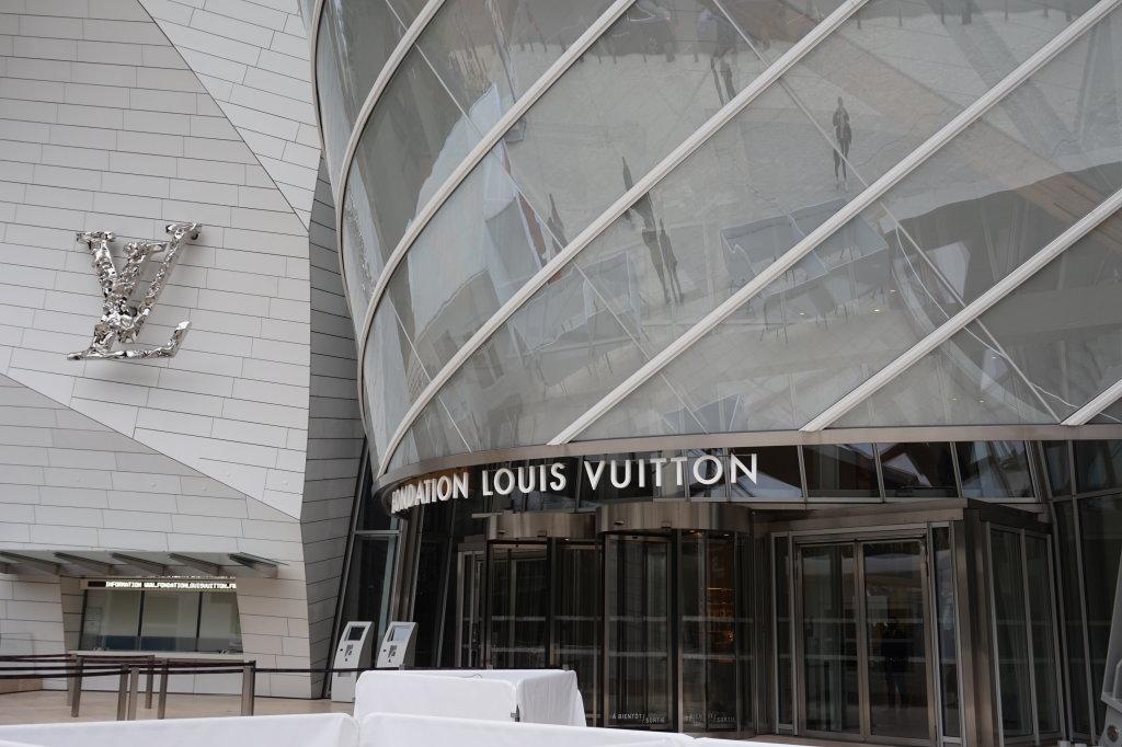 Vue de la Fondation Louis Vuitton