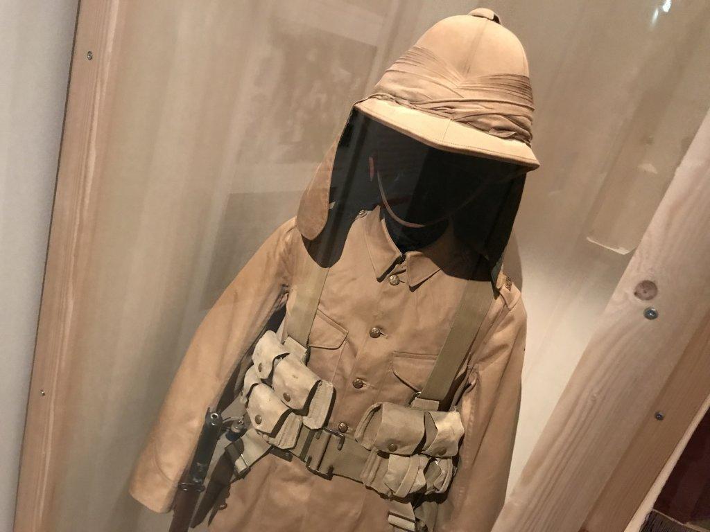Vue de l'exposition A l'Est, guerre sans fin - Musée de l'Armée (1)