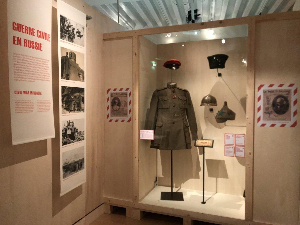 Vue de l'exposition A l'Est, guerre sans fin - Musée de l'Armée (43)