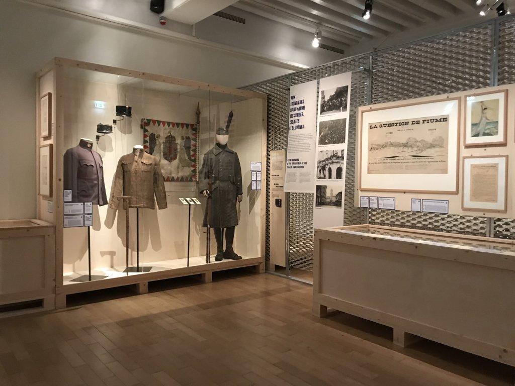 Vue de l'exposition A l'Est, guerre sans fin - Musée de l'Armée (50)