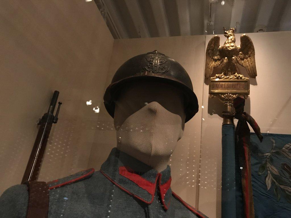 Vue de l'exposition A l'Est, guerre sans fin - Musée de l'Armée (54)