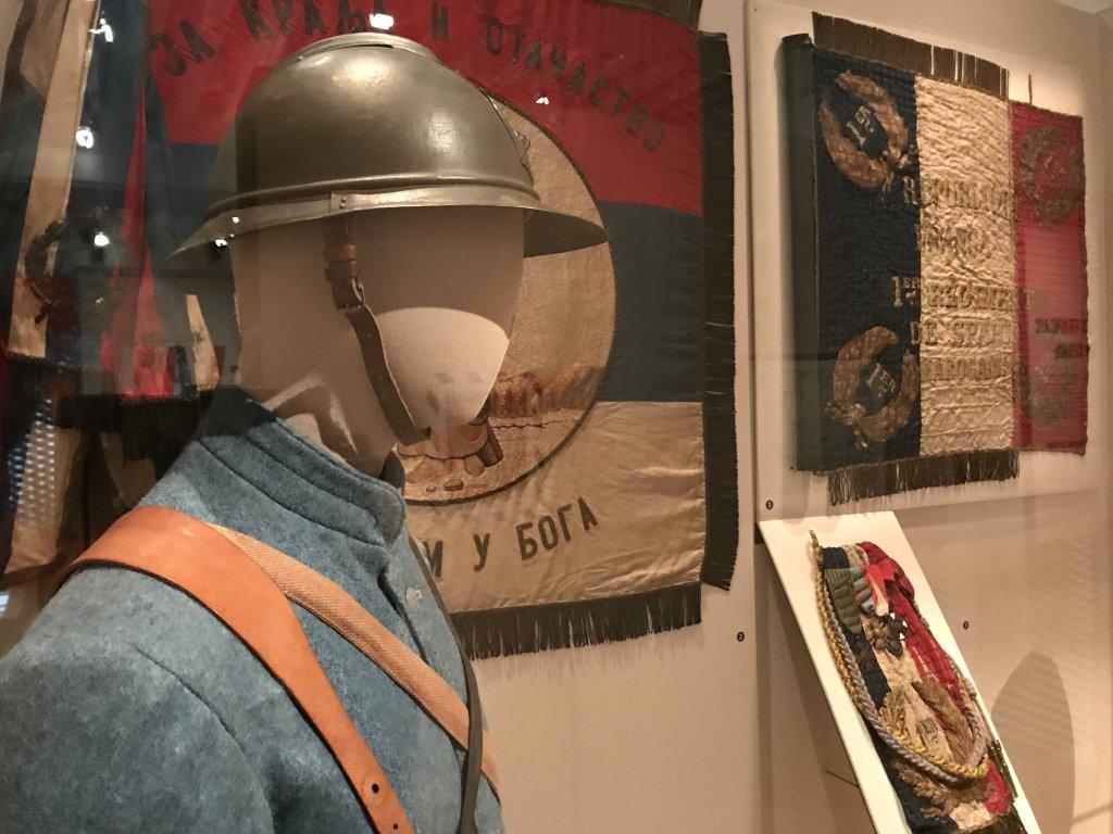 Vue de l'exposition A l'Est, guerre sans fin - Musée de l'Armée (57)