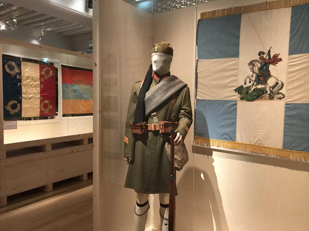 Vue de l'exposition A l'Est, guerre sans fin - Musée de l'Armée (62)