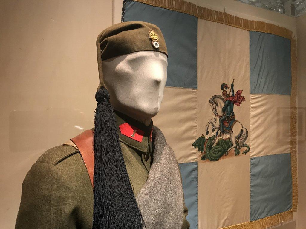 Vue de l'exposition A l'Est, guerre sans fin - Musée de l'Armée (63)