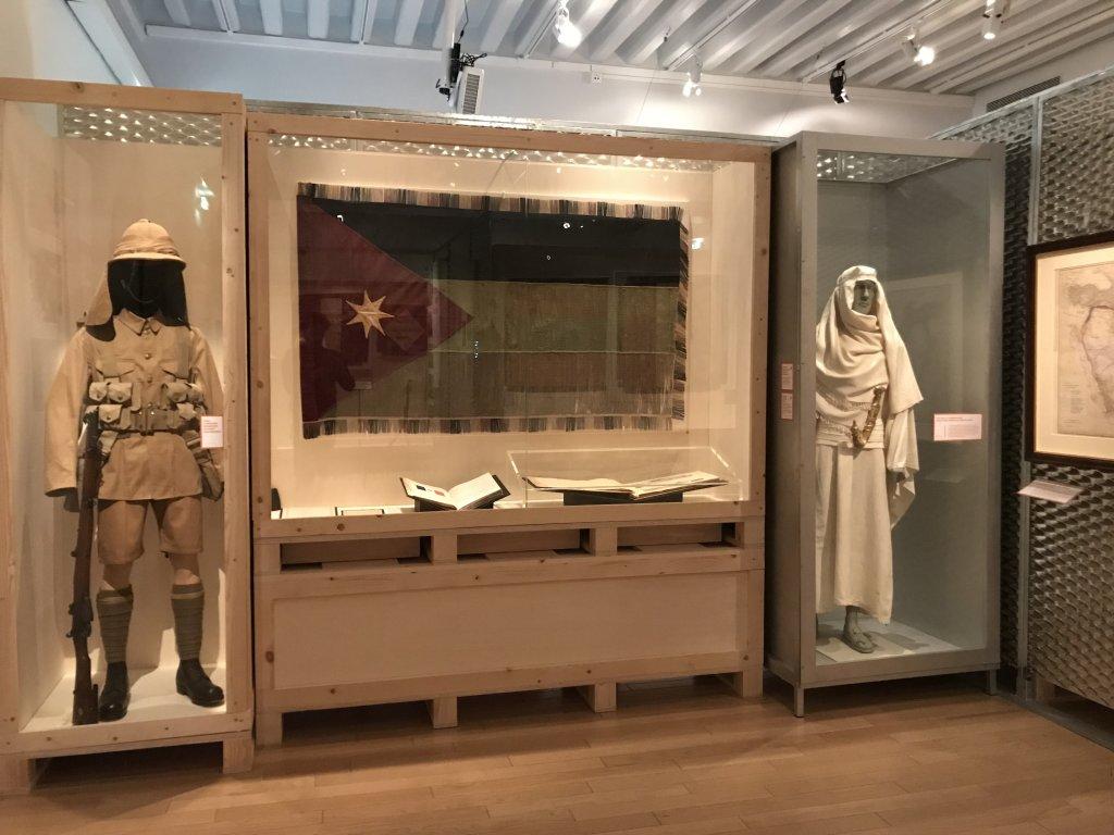Vue de l'exposition A l'Est, guerre sans fin - Musée de l'Armée (66)