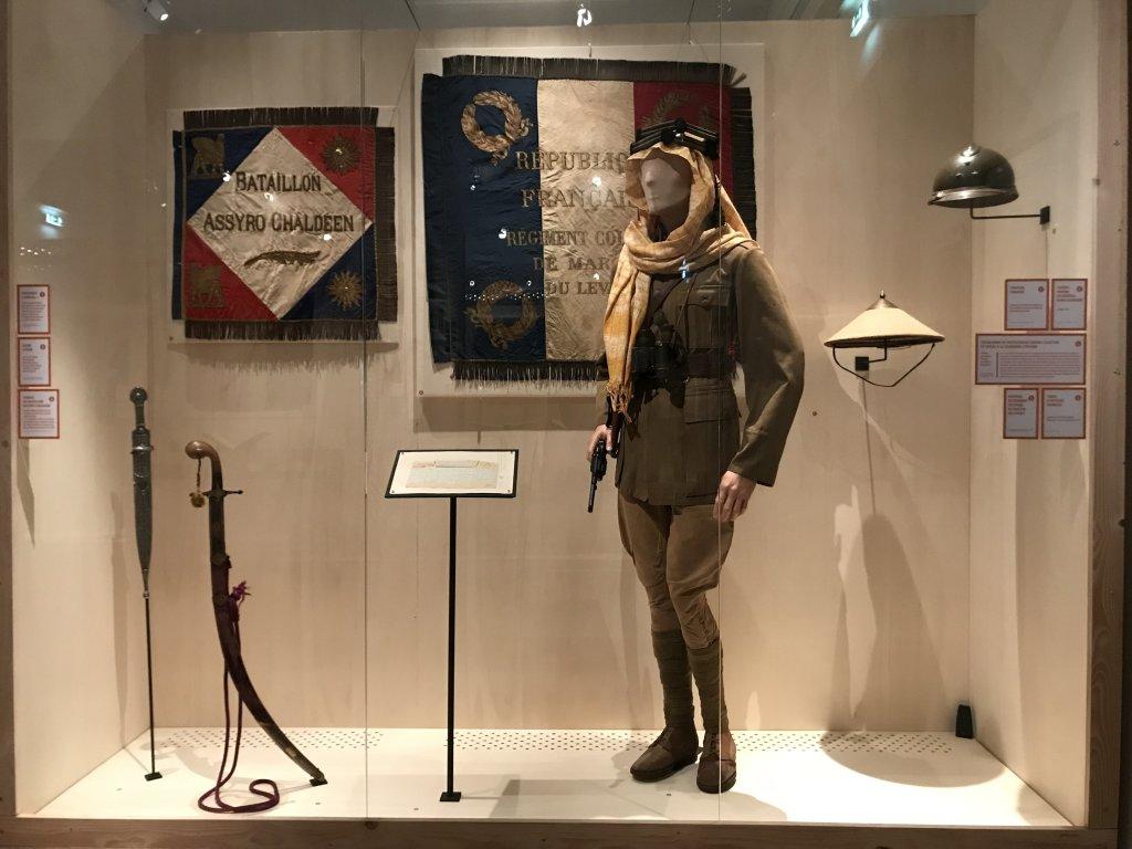 Vue de l'exposition A l'Est, guerre sans fin - Musée de l'Armée (68)