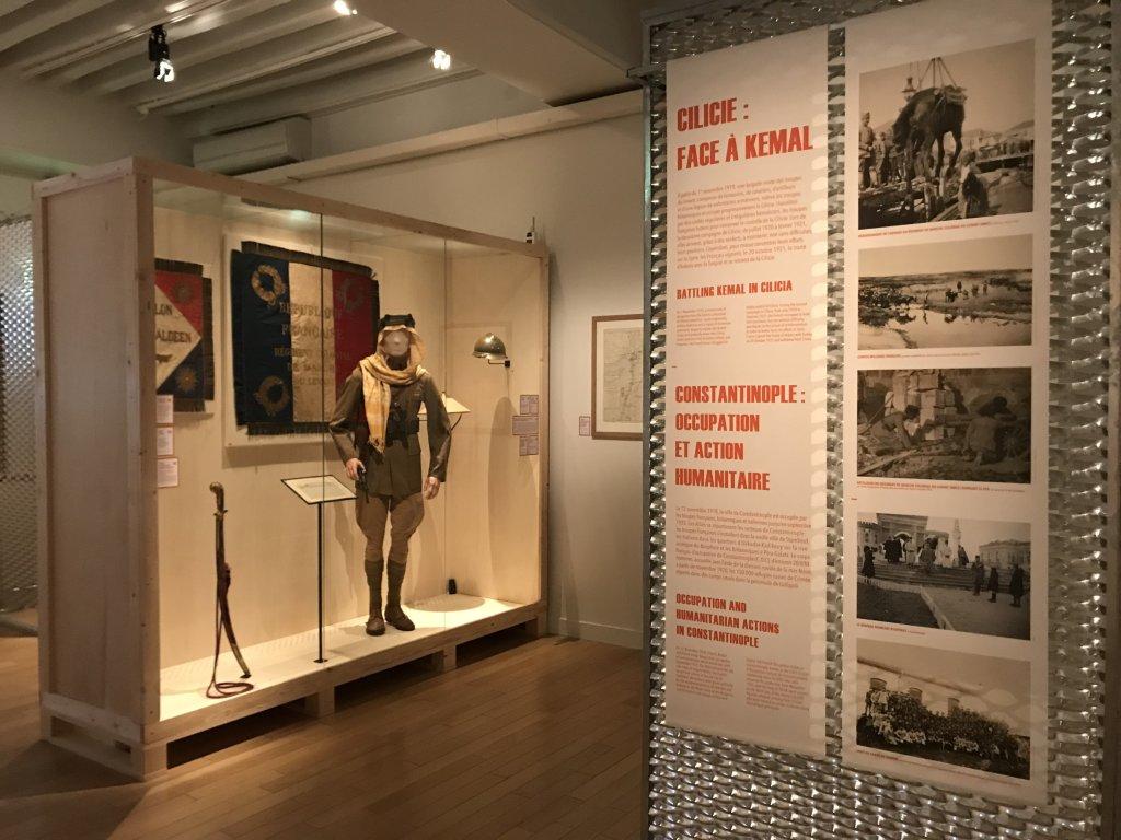 Vue de l'exposition A l'Est, guerre sans fin - Musée de l'Armée (73)