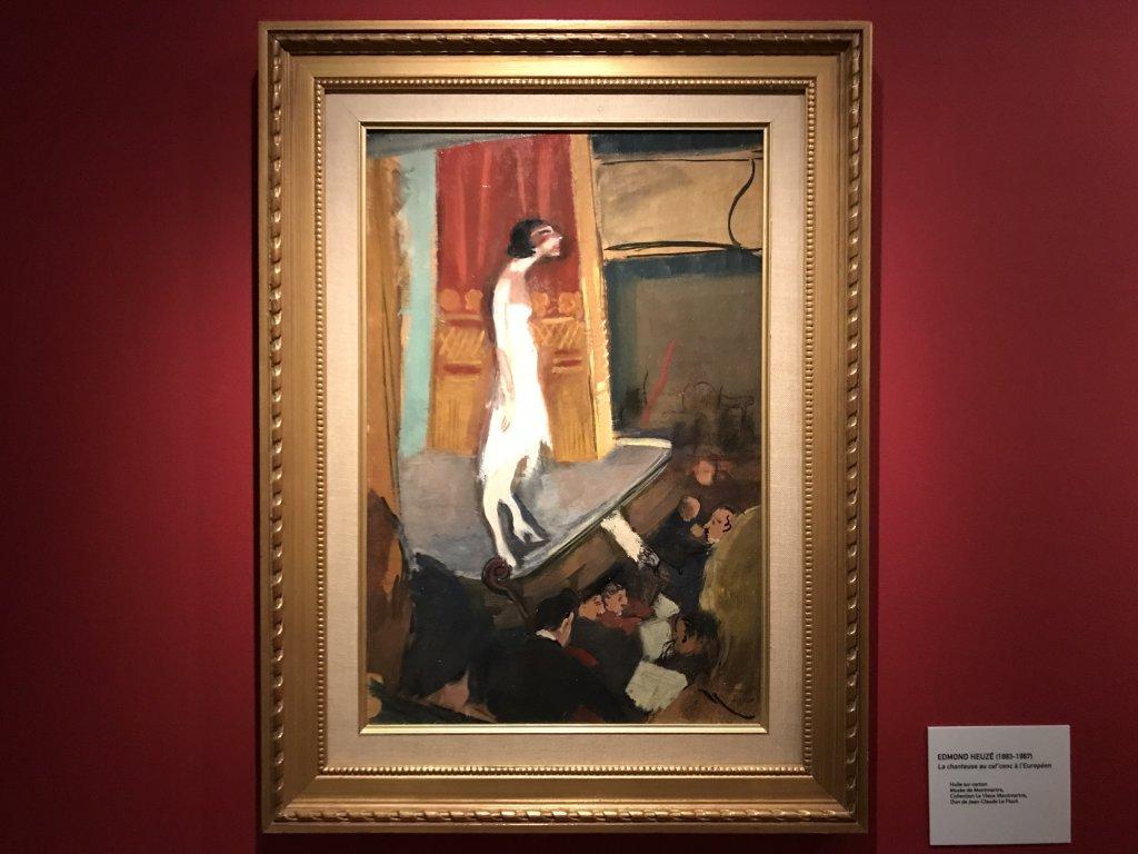 Vue de l'exposition Artistes à Montmartre, Ateliers et lieux mythiques - Musée de Montmartre