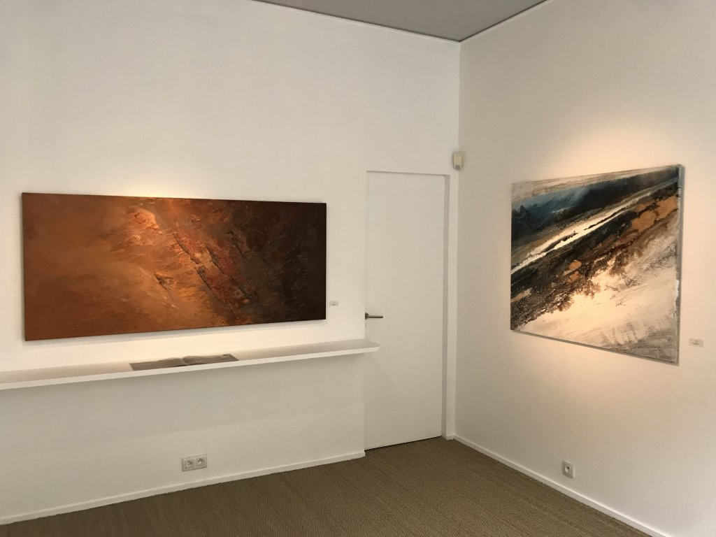 Vue de l'exposition Carsten Westphal et Afranio Fonseca - Galerie Minsky (2)
