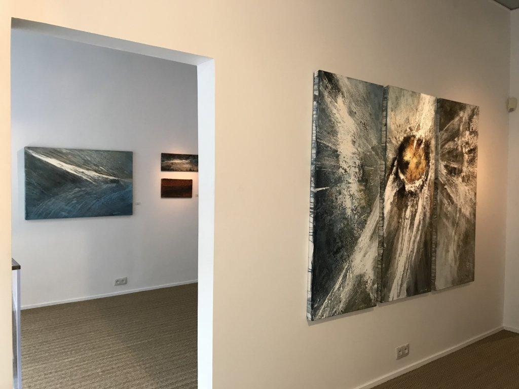 Vue de l'exposition Carsten Westphal et Afranio Fonseca - Galerie Minsky (3)