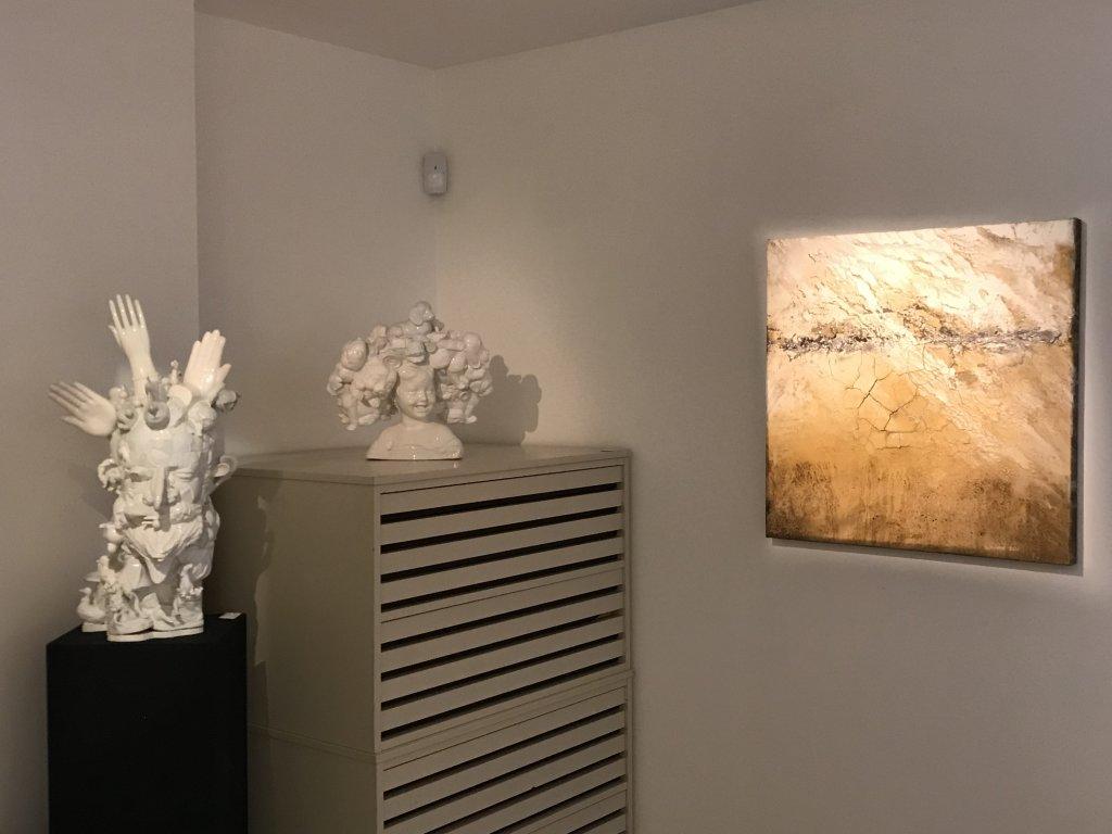 Vue de l'exposition Carsten Westphal et Afranio Fonseca - Galerie Minsky (39)