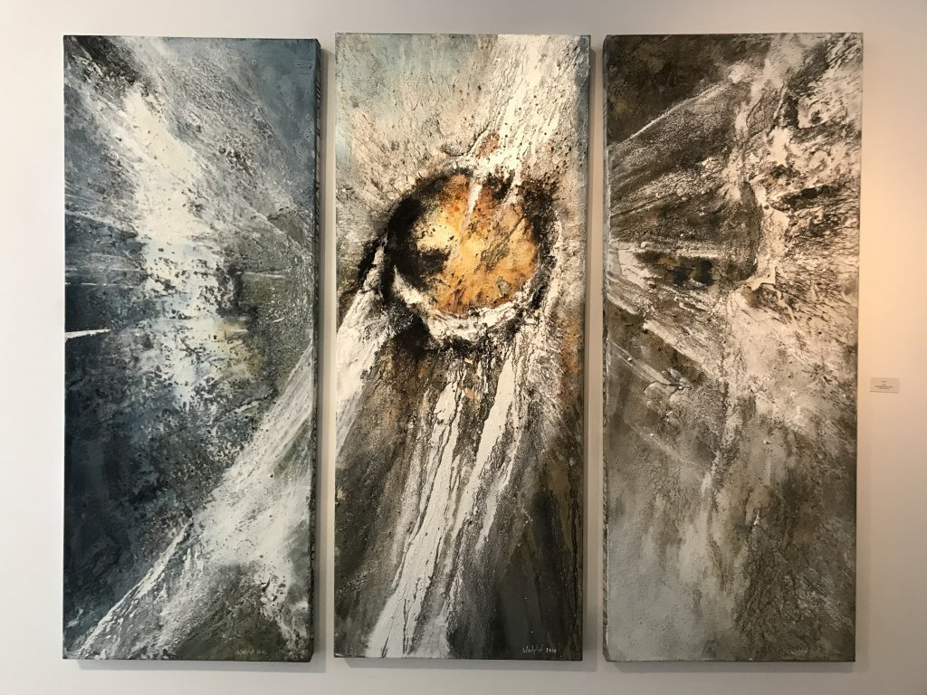 Vue de l'exposition Carsten Westphal et Afranio Fonseca - Galerie Minsky (4)