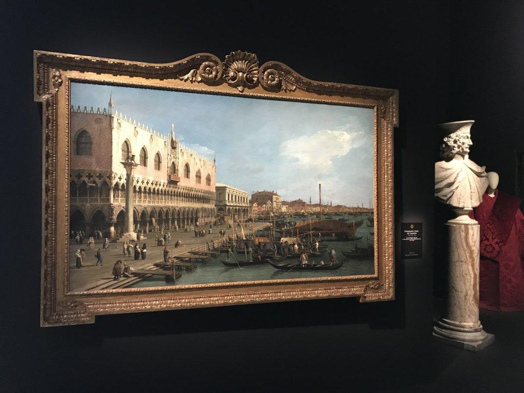 Vue de l'exposition Eblouissante Venise, les arts et l'Europe au XVIIIe siècle - Grand Palais (1)